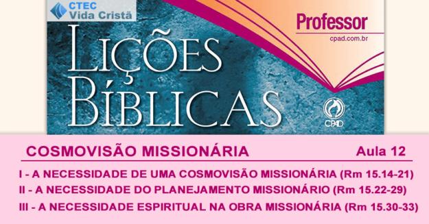 Cosmovisão Missionária