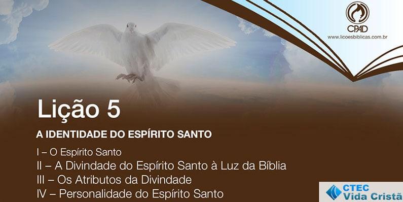 A identidade do Espírito Santo