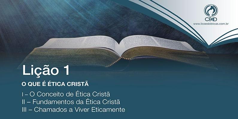O que é Ética Cristã