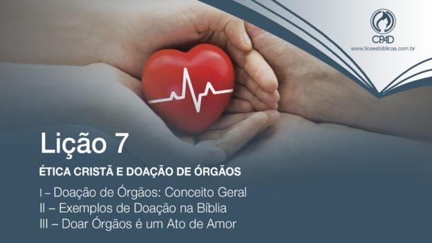 Ética Cristã e Doação de Órgãos