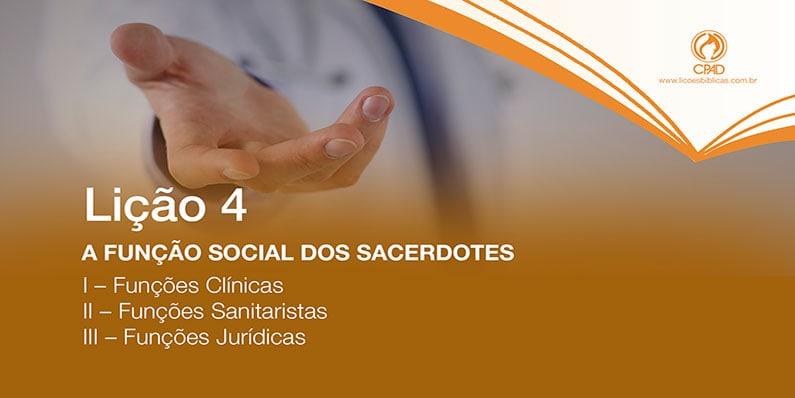 A função social dos sacerdotes